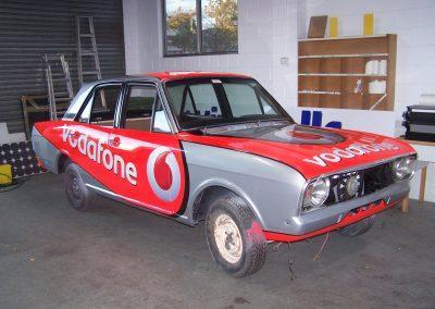VODAFONE RACE CAR 02